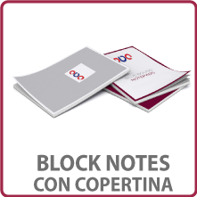 block notes con copertina